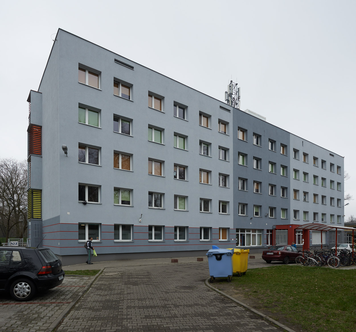 Budynek akademika Jubilatka we Wrocławiu