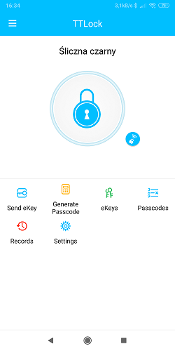eKey dostępy TTlock